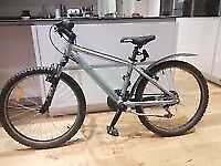 "24"" Wheels Rockrider Mountain bike."