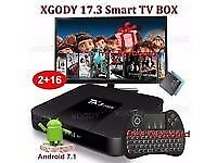 TV Android Box. HAS BEEN USED 1MONTH OLD