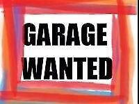 Looking for garage to rent in southport