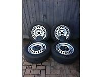 vw t5 wheels and tyres nice condition road legal tread