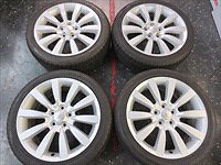 Mitsubishi 18 inch rims and tires