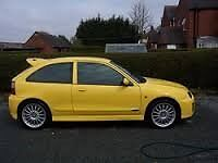 MG Rover ZR 25 parts spares 2004 yellow