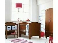Cosatto nursery set (cotbed wardrobe changer drawers ) . Good condition.