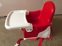 Lindam feeding chair/booster seat