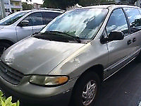 Very well maintained 99 Plymouth Voyager