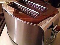 chrome russel hobbs toaster