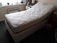 MIBed Electric Adjustable Bed with Pocket Sprung Mattress - MUST GO BY MON 23/10
