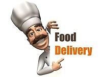 £8 p/h Takeaway Delivery Driver Wanted