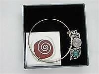 Designs from Nazareth Sterling Silver Charm Bangle