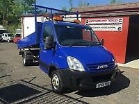 2006 (56) IVECO DAILY 50C15 3.0 HPI SINGLE CAB ALLOY DROPSIDE TIPPER CRANE HIAB