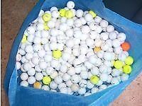 GOLF BALLS, RECLAIMED, ALL BRANDS, ALL CONDITIONS, CHEAPEST AROUND