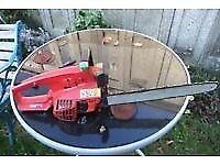 Champion petrol chainsaw