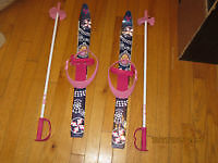 Barbie skis for child