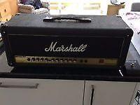 Marshall AVT 50H Valvestate 2000 amp head.