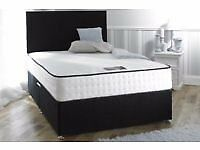 Can deliver Today Or Day Of Choice Double Bed+25 Memoryfoam Mattress+Headboard BRANDNEW