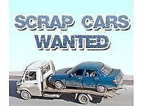 Scrap cars and battery's wanted