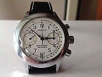 Poljot Vintage Classic Russian Mechanical Chronograph Watch In Yorkshire