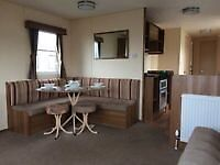 2 bedroom double glazed and central heated caravan for sale in essex by the beach 12 month park
