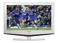 "Samsung White 19"" LCD TV LE19R71W - widescreen - 720p - HD ready"
