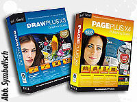 Serif Design-Paket: DrawPlus X3 + PagePlus X4 (2 CD-ROMs)