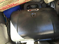 camping, 2 lanterns, 2 stoves, bbq, cooler, heater, hiker size