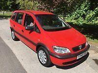 Vauxhall Zafira 2001 doesn't work