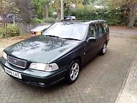 A Reliable, roomy and economical 1999 Volvo V70 auto diesel estate. Long MOT. A regrettable sale