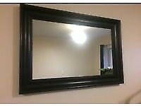 Ikea Hemnes Black Mirror - PERFECT CONDITION **FREE DELIVERY**