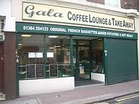 Cafe Business for Sale on Wolverhampton Street in Dudley Town Center