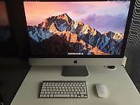 Apple iMac 27 inch (late 2013) immaculate condition as new looking.