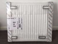 New Stelrad Compact K2 SET OF 5 Double Panel Radiators with Convector JOBLOT