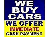 We buy any car any van and any 4x4 for cash