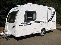 SOLD!!!¡Bailey Orion 400/2 2 berth lightweight touring caravan stunning