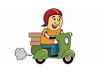 I am looking for a drivers job for a local takeaway/Can courier or dispose something for you maybe?