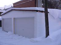 garage à limoilou pour entreposage 150 par mois