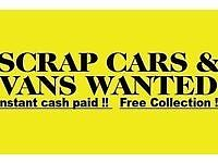 Scrap cars wanted Birmingham