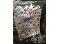 Three bags of baby clothes - Newborn, 0-3 Months and 3-6 Months