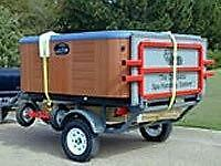 Hot Tub Spa  Moving Set up and or Disposal Service
