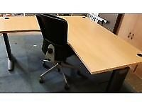 executive beech office desks top spec
