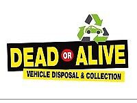 Scrap cars Manchester dead or alive vehicle disposal we want your old cars and vans for cash