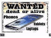 LAPTOPS ....PHONE....TVS...SAT NAV