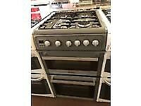 SILVER 50CM HOTPOINT GAS COOKER