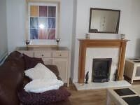 2 Bedroomed terraced modern cottage to rent, fully furnished very high standard includes white good