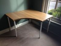 large ikea corner table
