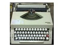 Imperial portable typewriter in good working condition.