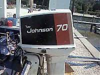 1978 70 H/P Johnson Outboard Complete parts motor