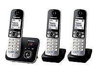 Panasonic KX-TG6823 Trio - Cordless House Phone - NEW