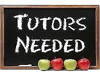 TUTORS NEEDED!! Maths English Science 11+ GCSE Computer