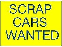 Cars vans trucks and 4x4s wanted
