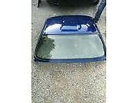 Mazda MX5 mk3.5 (2009) detachable sun roof-Stormy Blue